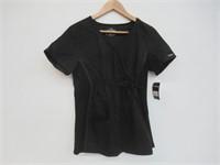 Cherokee Women's Maternity Mock Wrap Scrubs Shirt,