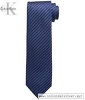 Calvin Klein Men's XL Etched Windowpane Tie, Navy