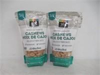 """""""As Is"""" (2) 365 Everyday Value Cashews Roasted &"""