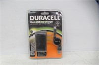 Duracell® DU6108 Dual USB AC Charger With