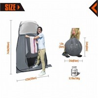 KingCamp Portable Pop Up Privacy Shelter Dressing