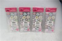 (4) Laur DIY Kawaii Puffy Stickers