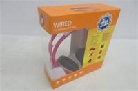 Kidz Gear Wired Volume Limited Headphones, Pink