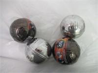 (4) Metaltek-soccer Ball - Colour May Vary