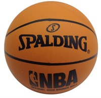 (6) Spalding High-Bounce NBA Basketball