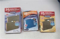 Lot Of Hanging Folders, Letter Size, Tabs