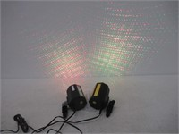 """As Is"" (2) Laser Projector Light Green/Red/"