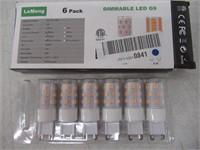 LeMeng Dimmable G9 LED Bulb 5W 500Lm(AC 120V,