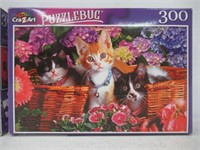 (2) 300 Piece Puzzle by Cra-Z-Art 18.25 x 11