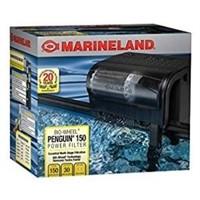 Marineland Penguin Power Filter, 20 to 30-Gallon,