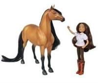 Breyer Spirit Riding Free-Spirit and Lucky Horse