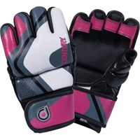 Century Drive Fight Gloves White/pink/grey (women)