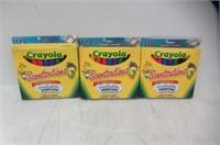 (3) Crayola Scentsations Washable Markers, Broad