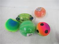 Lot Of Various Balls