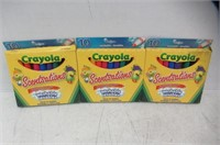 (3) Crayola Scentsations Washable Markers, Broad