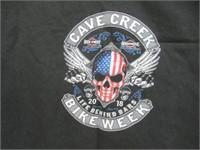 4XL Cave Creek Bike Week 2018 T-Shirt, Black