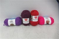 Lot Of Wool, Different Colours