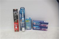 Lot Of Dental Hygiene Products