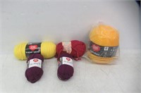 Lot Of Yarn - Different Colours