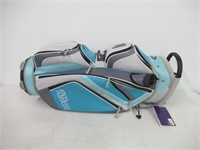 Top Flite Flawless Cart Bag - Blue/Grey