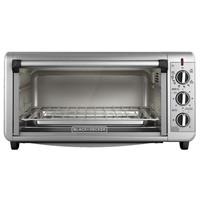 BLACK+DECKER Extra Wide Toaster Oven, 8 Slice,