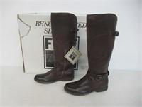 Frye Women's Phillip Riding Boot, Dark Brown Soft