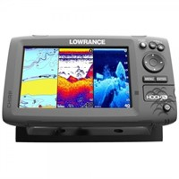 """""""As Is"""" Lowrance Hook-7 Fishfinder and Chartplotte"""