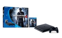 Playstation 4 Slim 500GB Console - Uncharted 4: A