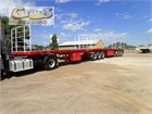 2015 Maxitrans B-Double Flat Top Trailers