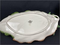Pair of Fitz and Floyd Classics Lily Platters
