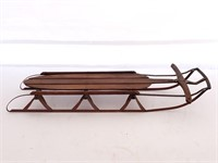 Unmarked Vintage Snow Sled