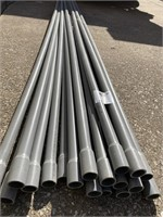 "1"" Gray Pipe-Electrical Plastic 10' 20 Pcs"