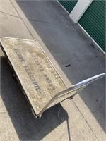 "36""x60"" Aluminum Rolling Cart"