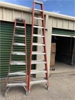 Fiberglass Step Ladders (1) 10' & (1) 8'