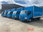 2012 Fuso Canter 815 Wide Pantech
