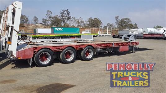2006 Roadwest Low Loader Platform Pengelly Truck & Trailer Sales & Service  - Trailers for Sale