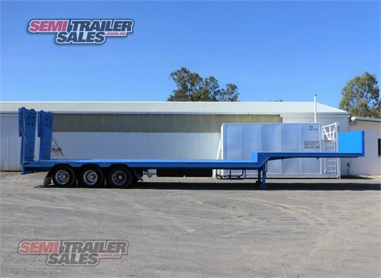 2001 Custom Drop Deck Trailer Semi Trailer Sales - Trailers for Sale