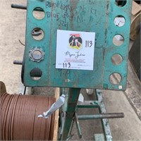 Wire Cart 10 Spools w/ Wire