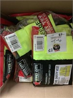 Green Safety Vests - Box