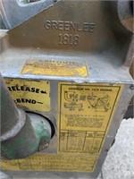 """Greenlee 1818 1&1/4"""" EMT 8&9/32"""" Bender"""