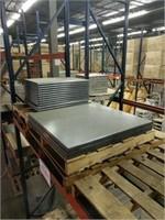 Black Granite Werzalit Table Top -Qty 16