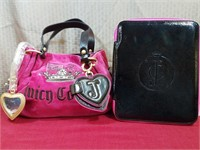 Juicy Couture Pink Purse, Leather Straps