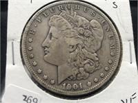 1901 S MORGAN DOLLAR  RARE DATE