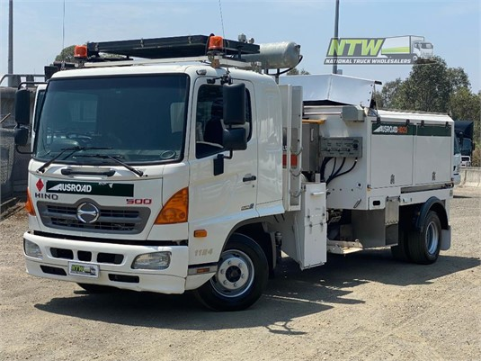 2014 Hino 500 Series 1124 FD National Truck Wholesalers Pty Ltd - Trucks for Sale
