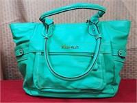 Ellen Tracy Green Purse Bag