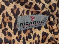 Ricardo Beverly Hills Leopard Print Tote