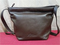 Stone Mountain Brown Geniune Leaather Shoulder Bag