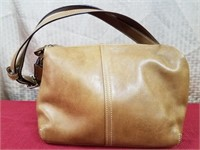 Coach Pochette Tan Purse