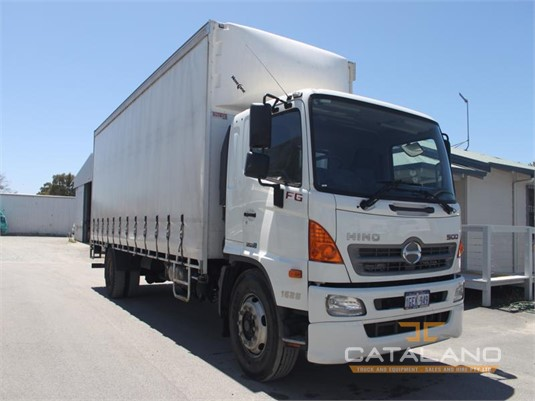 2016 Hino FG Catalano Truck And Equipment Sales And Hire - Trucks for Sale