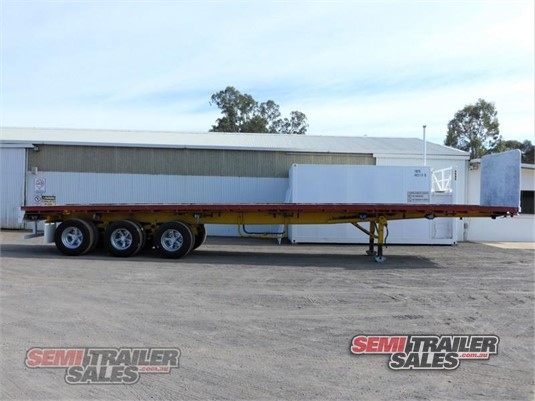 1986 Krueger Flat Top Trailer Semi Trailer Sales - Trailers for Sale